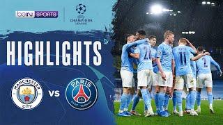 Manchester City 2-0 PSG   Champions League 20/21 Match Highlights