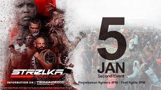STRELKA PHUKET Sand Fights 5 January 5PM