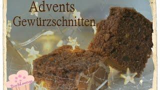 Foodadventskalender #8 / Advents Gewürzschnitten / BackLounge 2015 / DIY / Weihnachtsbäckerei