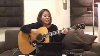 2013/2/3(日) 森恵さんのUSTREAMライブより Megumi Mori is a rising ...