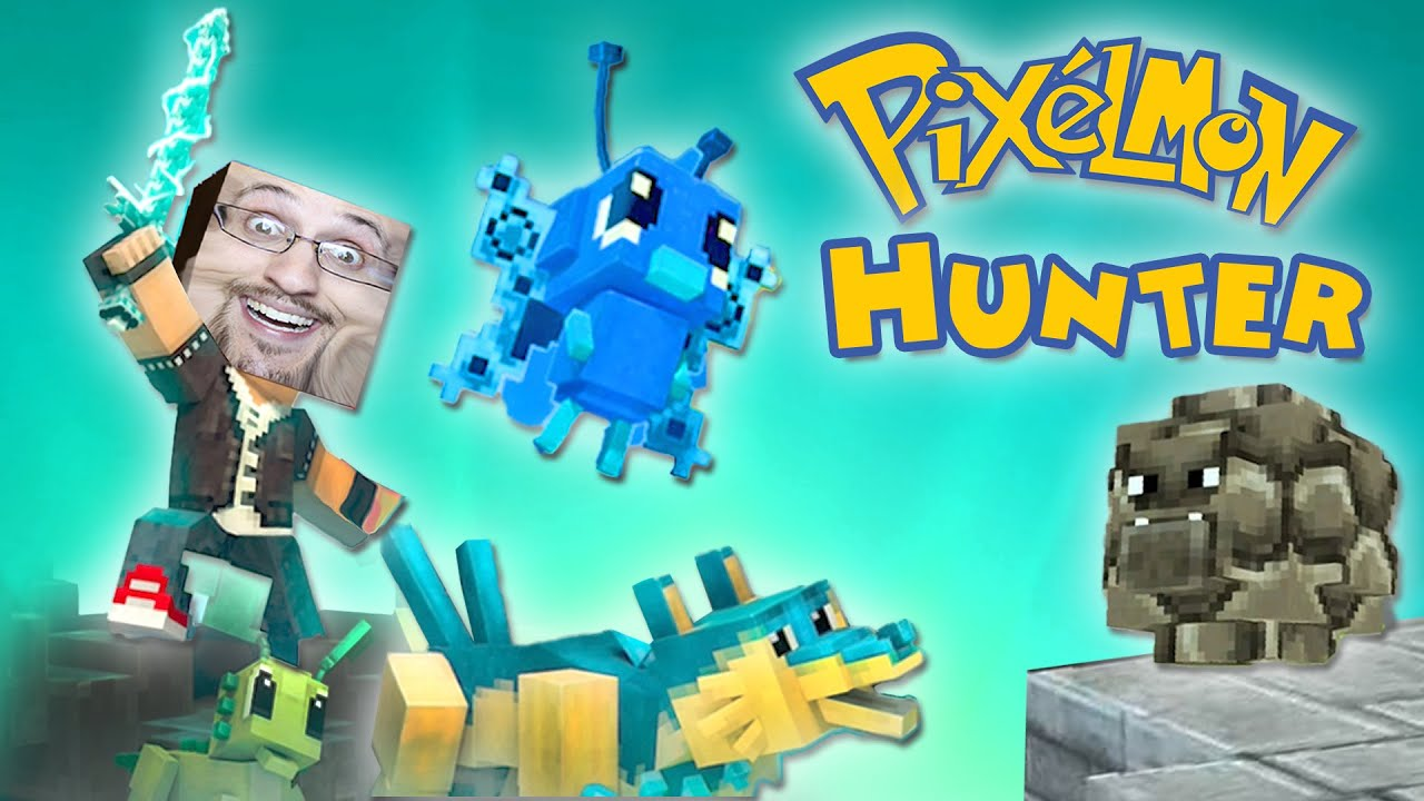 Lets Play PIXELMON HUNTER!  Why Would I Send a Picture of a Stone? (Pixel Gun / Pokemon / Minecraft)