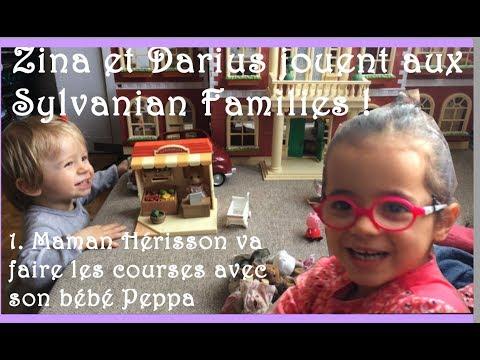 Zina Et Darius : Maman Hérisson Fait Ses Courses Avec Bébé Peppa