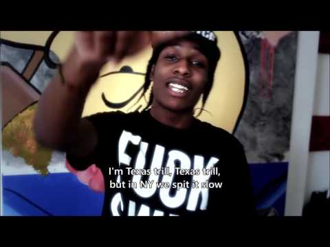 ASAP Rocky - Purple Swag (Official Video With Lyrics)