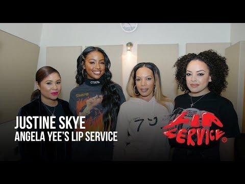 Angela Yee's Lip Service Ft. Justine Skye