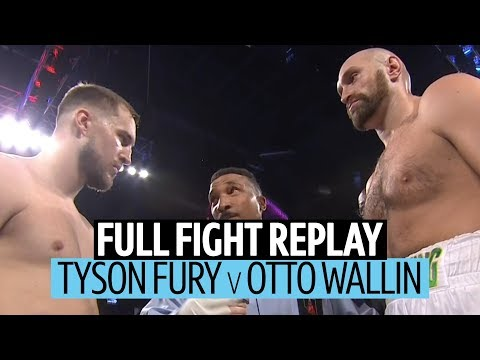 Heavyweight War! Tyson Fury V Otto Wallin Full Fight Replay