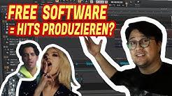 Kann man mit GRATIS Software HITS produzieren?  #Challenge | Vincent Lee