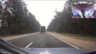 Еще одно видео преследования пьяного водителя-дальнобойщика (регистратор другого автомобиля)(, 2014-07-30T12:21:18.000Z)
