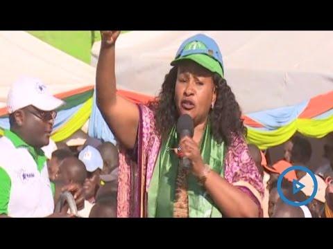 Wavinya Ndeti speech at the NASA rally in Nairobi