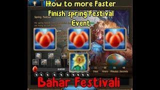 Drakensang Online | Athena Bahar festivali etkinliği nasıl hızlı bitirlir,Altın yumurtalar nerde ?