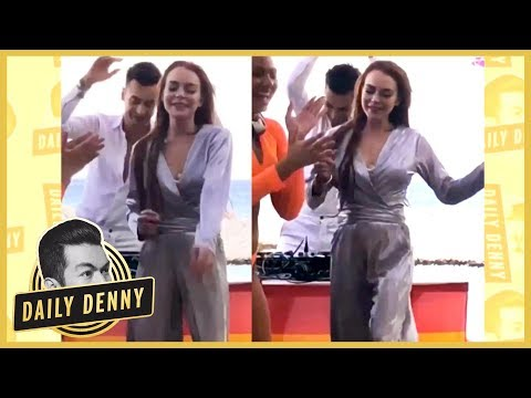 The Real Story Behind Lindsay Lohan's Viral Dance Video  DailyDenny