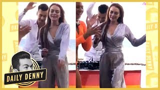 The Real Story Behind Lindsay Lohan's Viral Dance Video   #DailyDenny