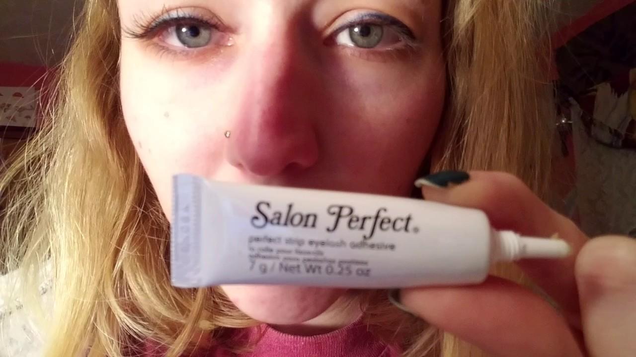 Asmr Review Salon Perfect Eyelash Adhesive Whispering Youtube