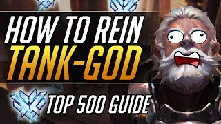 Reinhardt Gameplay Guide -  BEST Pro Tips and Tricks Coach Guide | Overwatch Guide