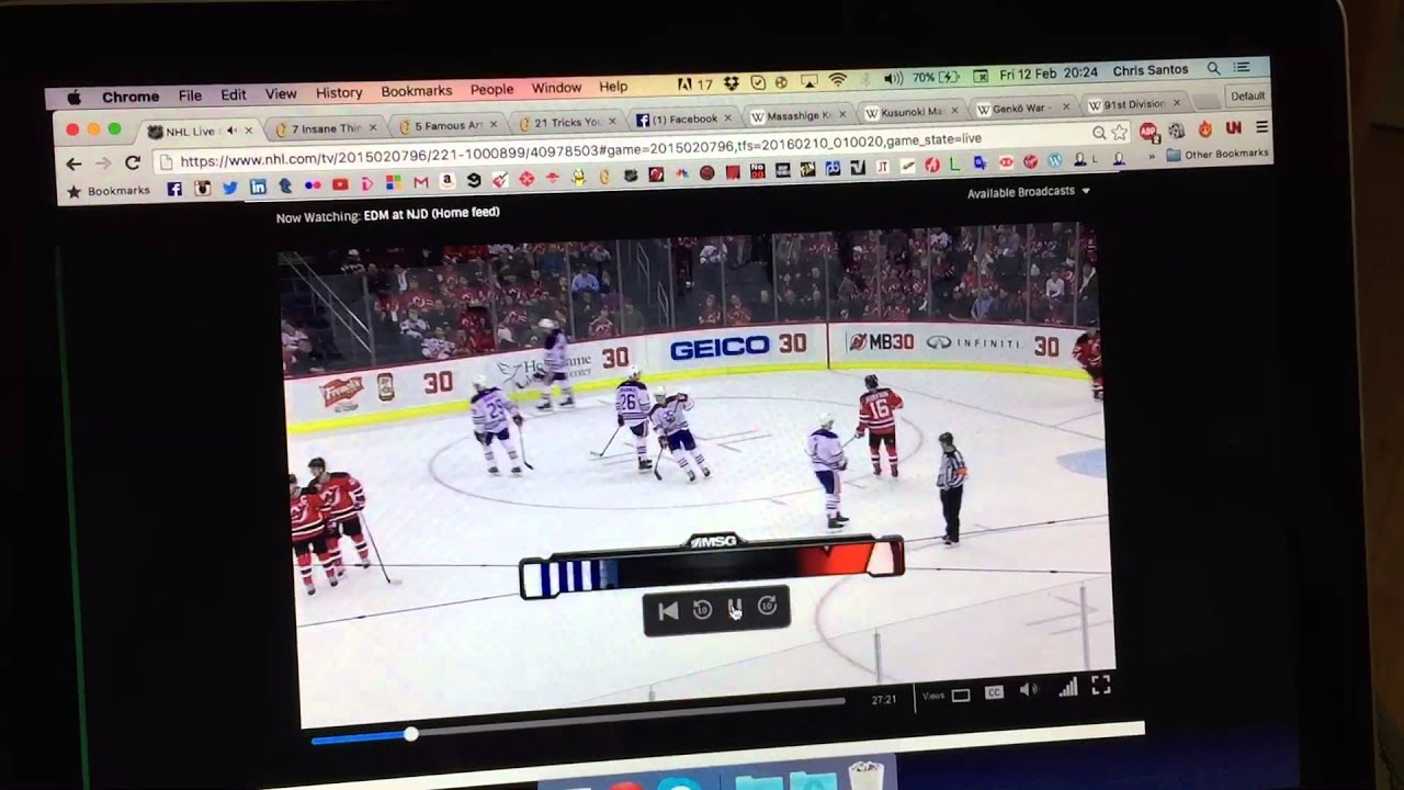 NHL CENTER ICE | Watch NHL Games | DIRECTV Official Site