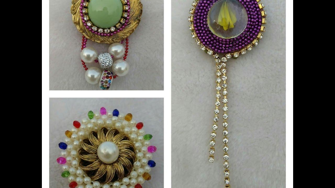 0a2fd7c27 SILK THREAD FANCY SAREE PINS. SHALINI'S LADIES CORNER