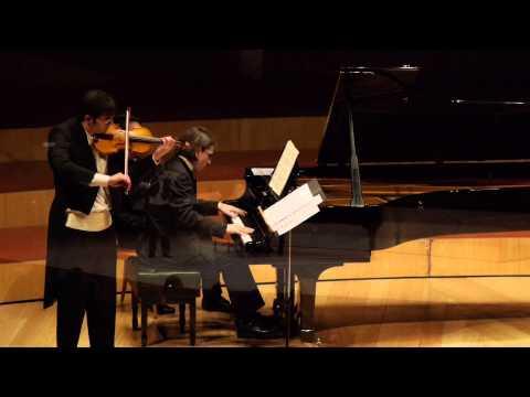 Brahms: Violin Sonata No.3, Op.108 (I. Allegro)