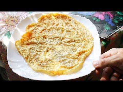 Как приготовить яичницу, или омлет без молока!