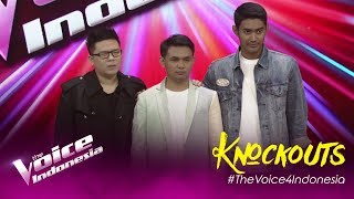 Dhani vs Gus Agung vs Williem | Knockouts | The Voice Indonesia GTV 2019