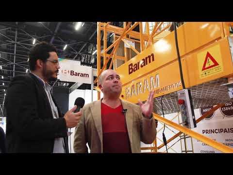 Concrete Show 2017: Baram apresenta a PEM7, nova plataforma modular da marca