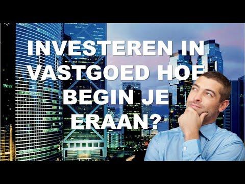 Investeren in vastgoed  hoe begin je eraan?