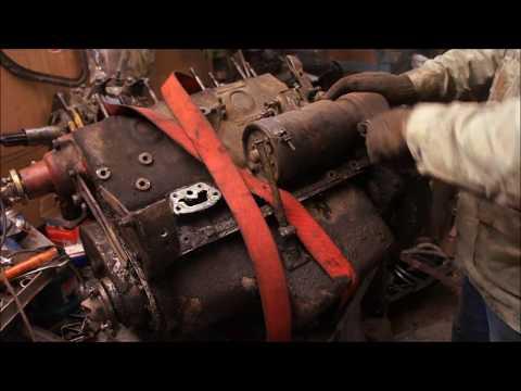 разборка двигателя ГАЗ М20