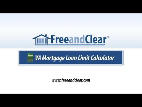 Va Mort Loan Limit Calculator