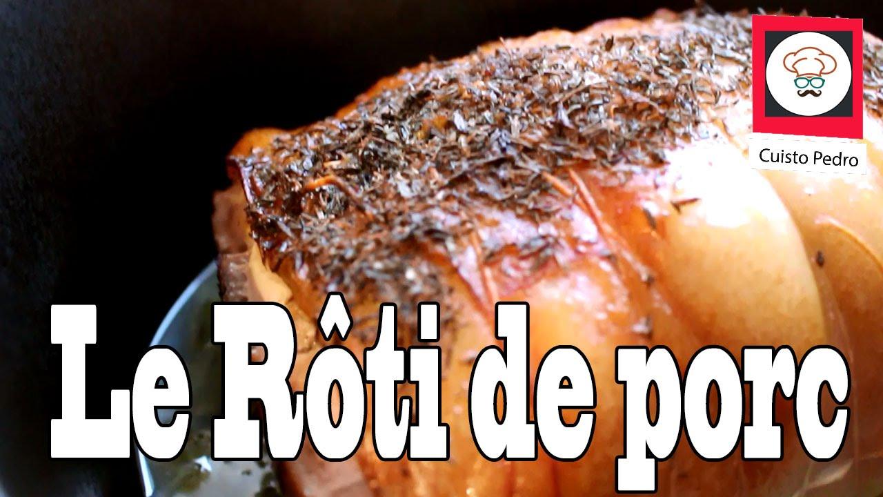 Recette facile et rapide roti de porc moelleux dans cocotte ultra pro tupperware youtube - Recette paupiette de porc facile ...