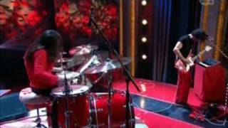 """The White Stripes """"Icky Thump"""" (Live on Late Night with Conan O'Brien)"""