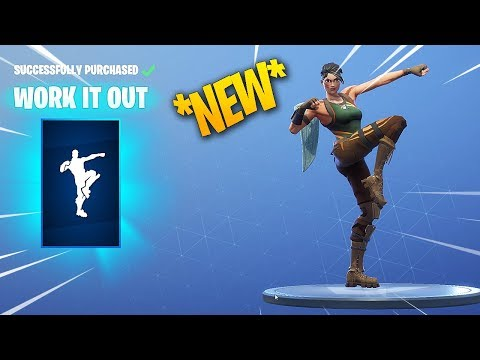 *NEW* FORTNITE WORK IT OUT DANCE/EMOTE!