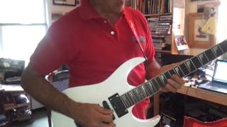 Position for Bohemian Rhapsody guitar solo