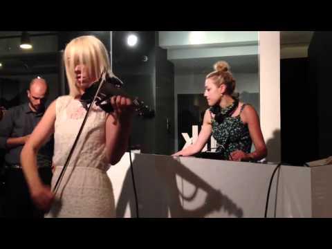 Mia Moretti & Caitlin Moe at Milk Studios