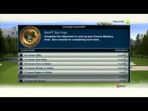 Tiger Woods PGA TOUR® 13 - Course Mastery & Coins Producer Video