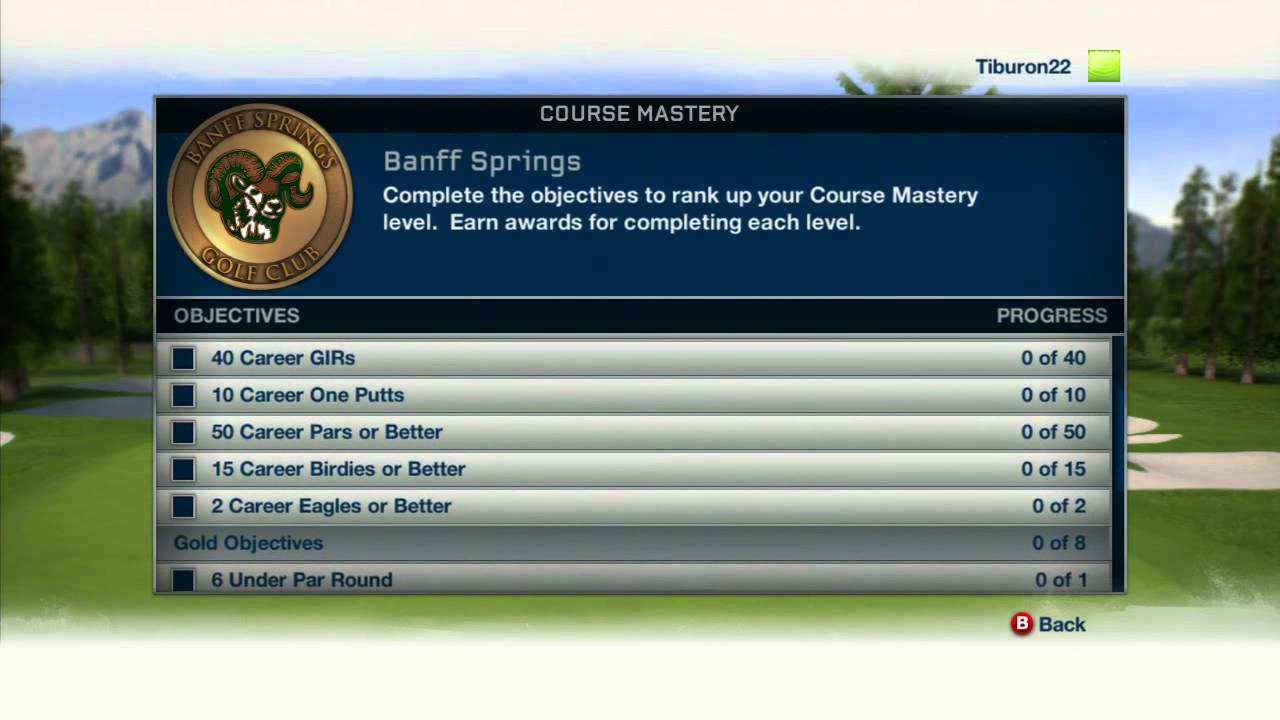Tiger Woods Pga Tour 13 Course Mastery Coins Producer Video Youtube
