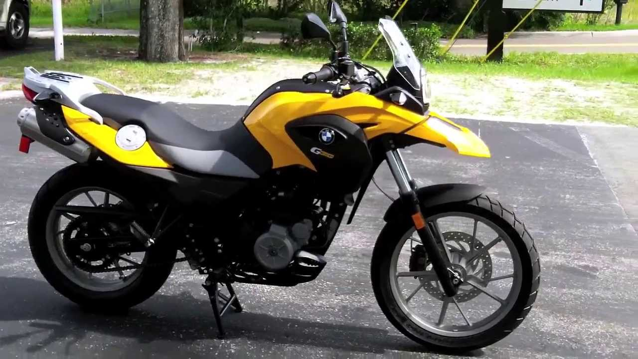 2013 Bmw G650gs Low Yellow At Euro Cycles Of Tampa Bay Youtube