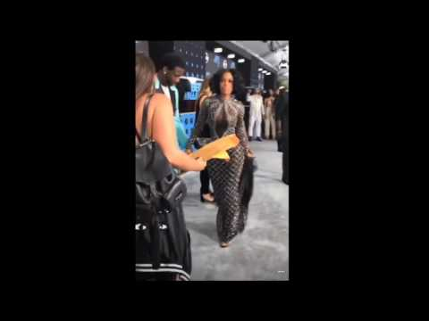Gucci Mane Grabs His Fiancee's Booty On BET Awards Red Carpet