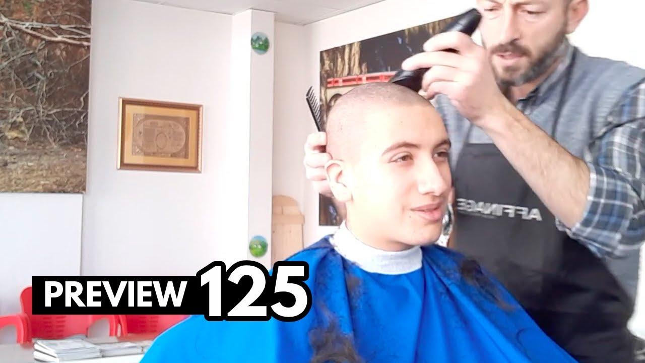 125.- Man head shaving I TRAILER