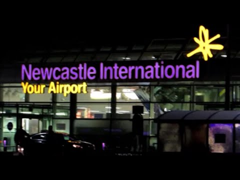 Newcastle International Airport HD - North East England UK