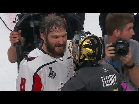 Capitals & Golden Knights shake hands at end of Stanley Cup Final