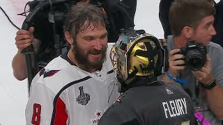 Capitals And Golden Knights Shake Hands At End Of Stanley Cup Final