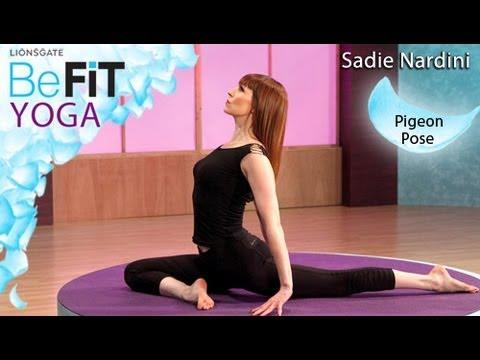 Yoga Pigeon Pose Sadie Nardini BeFit