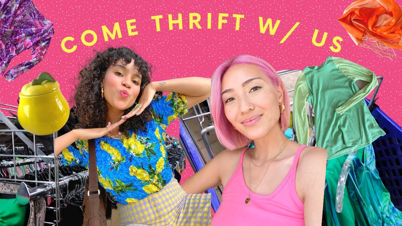Come Thrift With Us: Thrift Tips + Try on Haul