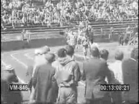 1967 - Jim Ryun sets a collegiate record of 3:54.7 for the mile at the Kansas Relays