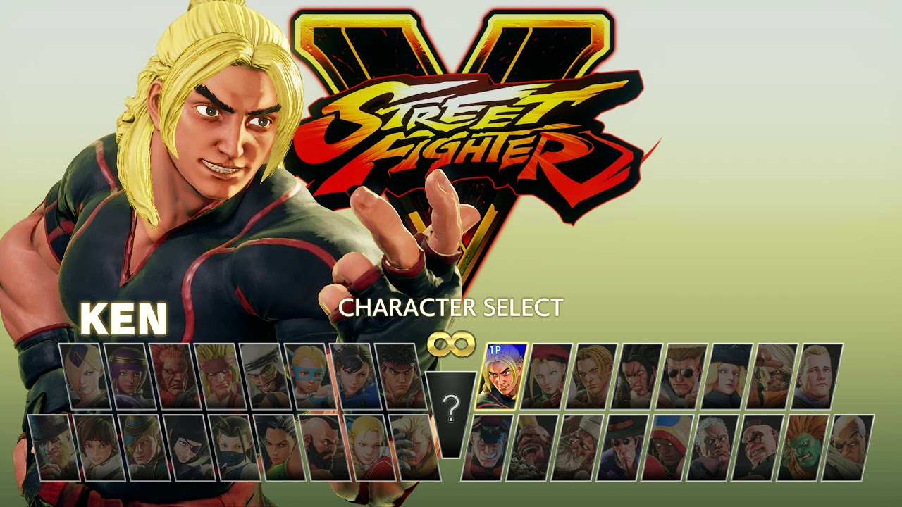 Street Fighter V Arcade Edition All Characters Unlocked And