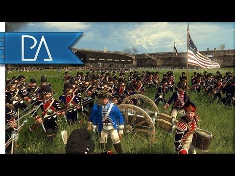 U.S. FORT ASSAULT - Empire Total War Gameplay