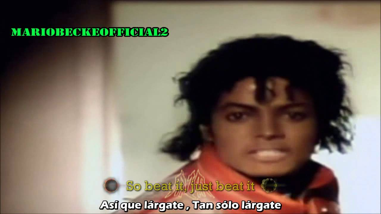 Michael Jackson Beat It Lyrics Subtitulado Al Espanol Official Video Vevo