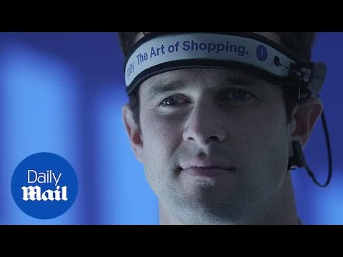 eBay launches world's first subconscious shopping experience - Daily Mail
