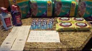 Target Couponing Haul 6/19----Cheap Diapers and More FREEBIES :) Thumbnail