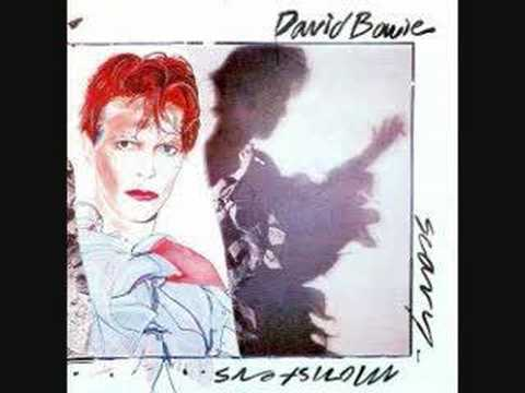 David Bowie- Scary Monsters (And super creeps)