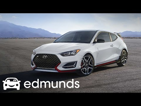 Is the 2019 Hyundai Veloster N the Best New Hot Hatch First Drive Edmunds