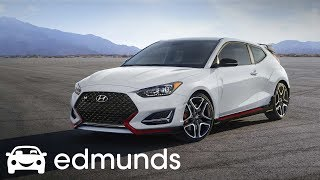 Is the 2019 Hyundai Veloster N the Best New Hot Hatch First Drive Edmunds смотреть